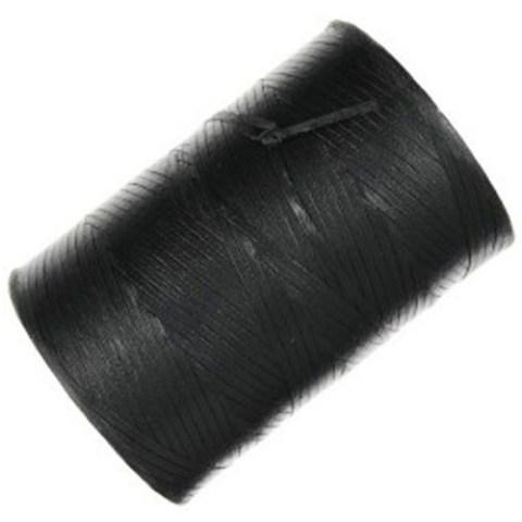 חוט קשירה שחור עם ציפוי שעווה - 2.16MM X 0.35MM - גליל 457 מטר ALPHA WIRE