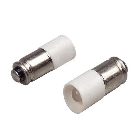 נורת LED עבור מפסקים תעשייתיים מוארים - 24V - לבן מפוזר CML