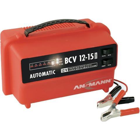 מטען אוטומטי למצברים - ANSMANN BCV12/15 - 12V 15A ANSMANN
