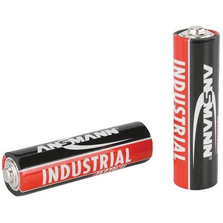 200 סוללות אלקליין תעשיות - ANSMANN - AA 1.5V ANSMANN