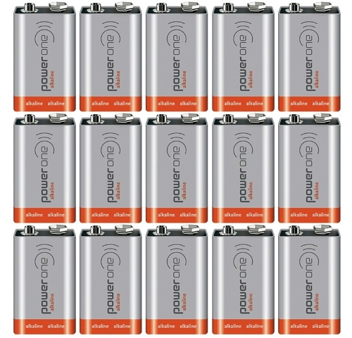 POWER ONE INDUSTRIAL ALKALINE BATTERIES