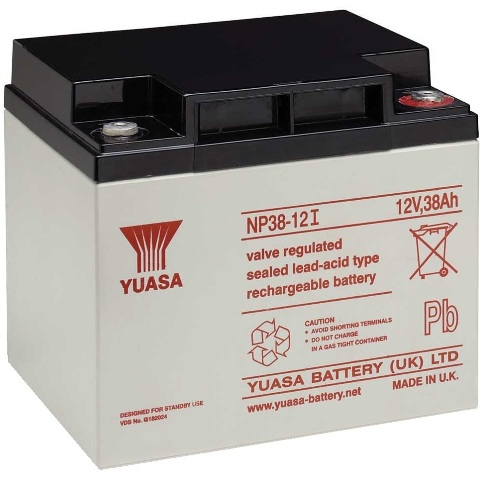 YUASA SEALED LEAD ACID BATTERIES - NP SERIES