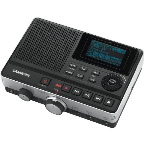 מקליט קול דיגיטלי מקצועי - SANGEAN DAR-101 SANGEAN