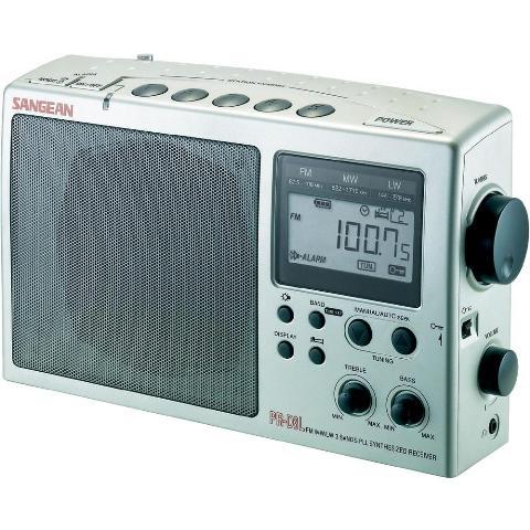 SANGEAN FM / AM / LW PORTABLE PLL SYNTHESIZED RECEIVER - PR-D3