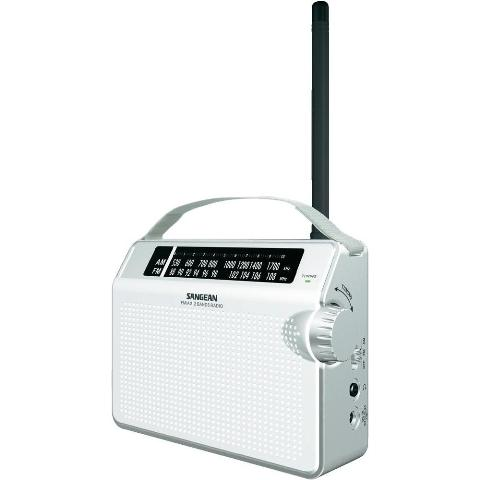 SANGEAN AM / FM COMPACT ANALOGUE TUNING PORTABLE RECEIVER