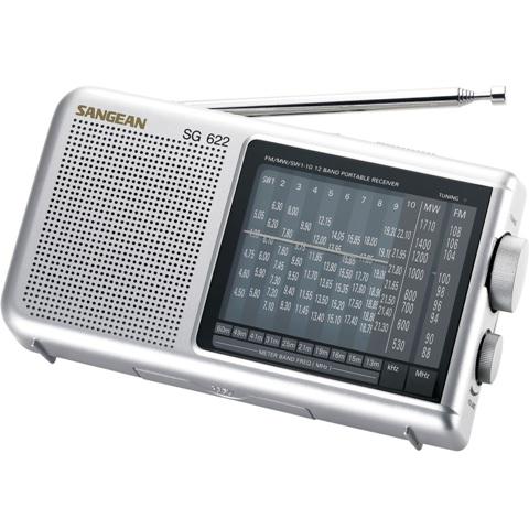 רדיו שולחני / נייד אנלוגי בעיצוב קלאסי - SANGEAN SG-622 SANGEAN