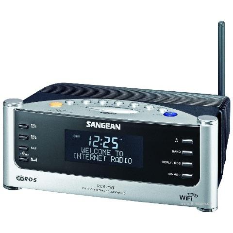 רדיו אינטרנט שולחני דיגיטלי - SANGEAN RCR-7WF SANGEAN