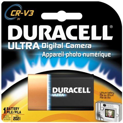 סוללת ליתיום - CR-V3 3V DURACELL