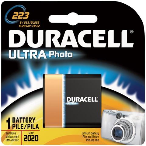 סוללת ליתיום - 223A 6V DURACELL