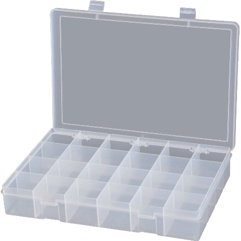 DURATOOL COMPARTMENT BOXES
