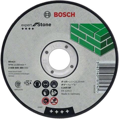 BOSCH 115MM FLAT STONE CUTTING DISC