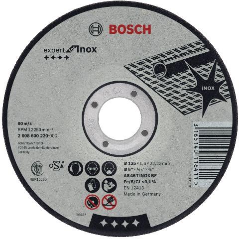 דיסק חיתוך למתכות - 115MM X 2.5MM BOSCH
