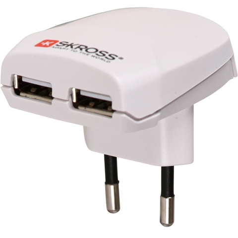 SKROSS EURO USB CHARGER