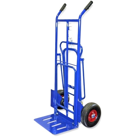 DURATOOL 200KG 3-IN-1 TROLLEY & SACK TRUCK