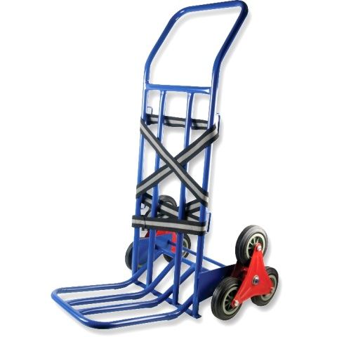 DURATOOL 75KG STAIR CLIMBER SACK TRUCK
