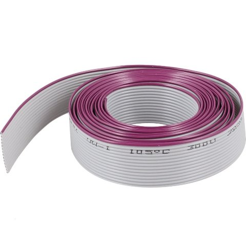 PRO-POWER IDC RIBBON CABLES - GREY 1.27MM PITCH