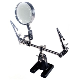 DURATOOL CLAMP TOOL WITH MAGNIFIER