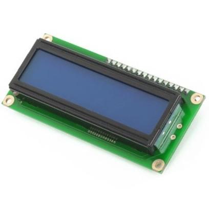 תצוגת LCD עם תאורה - 2X16 MIKROELEKTRONIKA