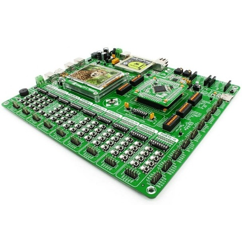 MIKROELEKTRONIKA ARM EASYMX PRO V7 DEVELOPMENT BOARD