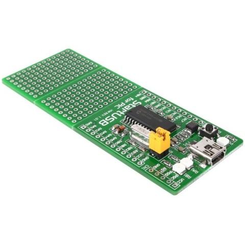 כרטיס פיתוח - STARTUSB FOR PIC18F2550 MIKROELEKTRONIKA
