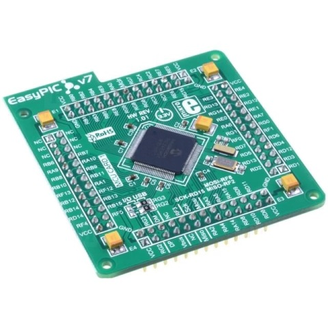 MIKROELEKTRONIKA EASYPIC FUSION V7 DEVELOPMENT BOARD