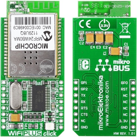 MIKROELEKTRONIKA WIFI PLUS CLICK ADD-ON-BOARD
