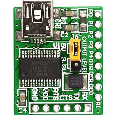 MIKROELEKTRONIKA USB-UART ADD-ON-BOARD