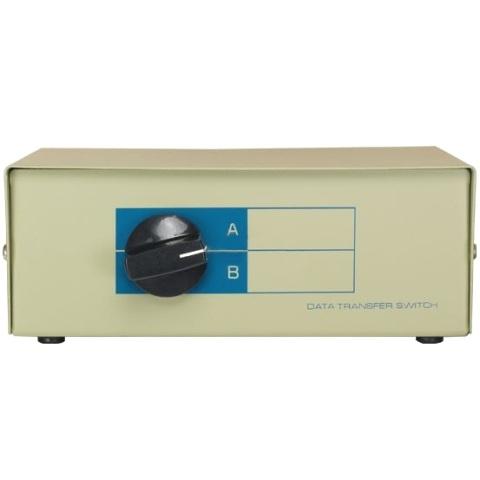 קופסת מיתוג ידנית - שתי כניסות DB9 ליציאה אחת PRO-SIGNAL