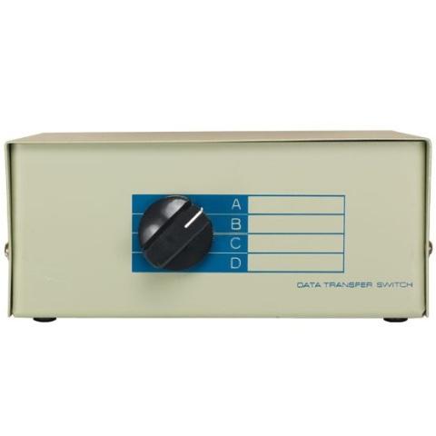 קופסת מיתוג ידנית - ארבע כניסות DB25 ליציאה אחת PRO-SIGNAL