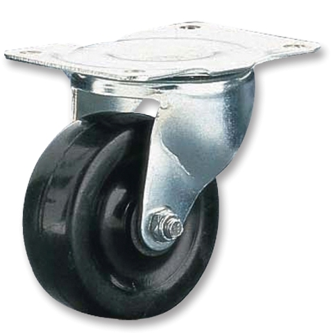 CLARKE INTERNATIONAL GENERAL DUTY SWIVEL CASTORS - PLATE FITTING