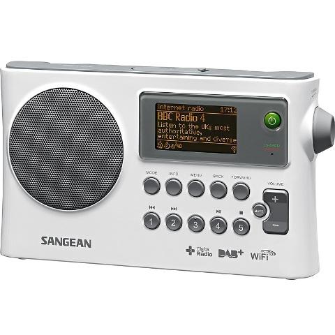 רדיו אינטרנט שולחני / נייד דיגיטלי - SANGEAN WFR-28D SANGEAN