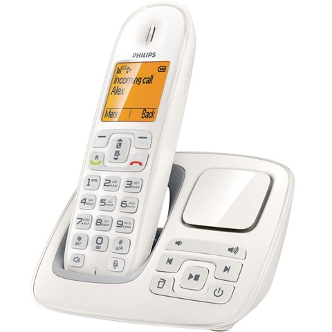 PHILIPS BeNear CORDLESS PHONE WITH ANSWER MACHINE - CD2951