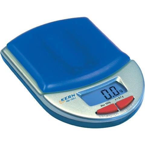 משקל כיס דיגיטלי - עד 150 גרם - רזולוציה 0.1 גרם KERN