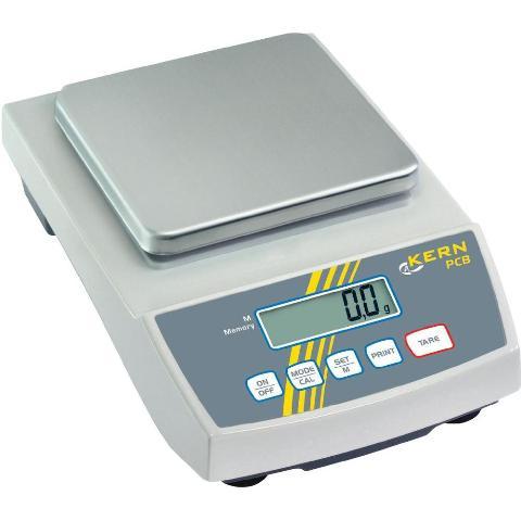 משקל שולחני דיגיטלי - עד 1000 גרם - רזולוציה 0.01 גרם KERN