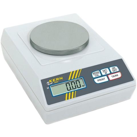 משקל שולחני דיגיטלי - עד 400 גרם - רזולוציה 0.01 גרם KERN