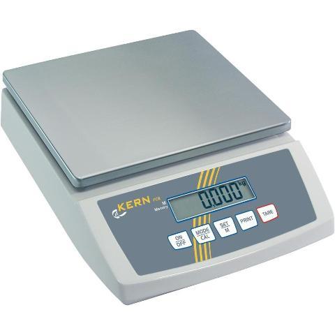 משקל דלפק דיגיטלי - עד 6000 גרם - רזולוציה 0.5 גרם KERN