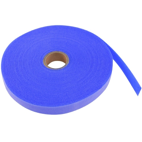 סרט קשירה לכבלים (סקוטש) - רוחב 15MM - כחול PRO-POWER