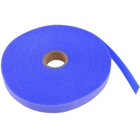 סרט קשירה לכבלים (סקוטש) - רוחב 20MM - כחול PRO-POWER