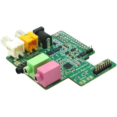 WOLFSON RASPBERRY PI AUDIO CARD