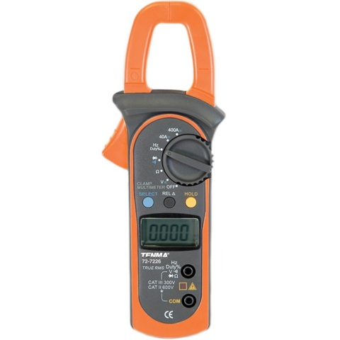 TENMA DIGITAL MULTIMETERS - CLAMP SERIES