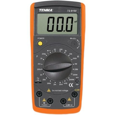 TENMA DIGITAL MULTIMETERS - LCR SERIES