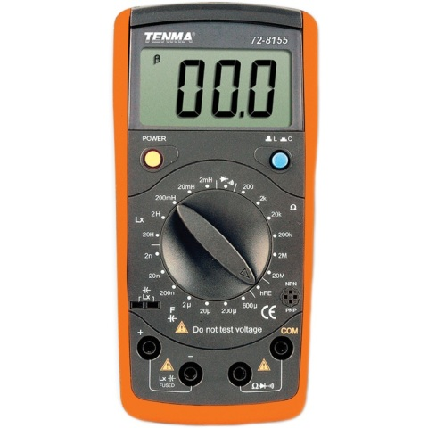 TENMA DIGITAL MULTIMETERS - CR SERIES