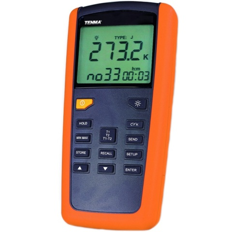 TENMA DUAL CHANNEL DIGITAL THERMOMETERS