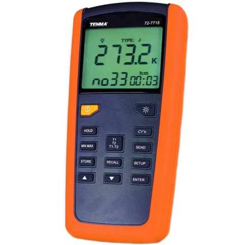 מודד טמפרטורה ידני דיגיטלי - PRO II SERIES TENMA