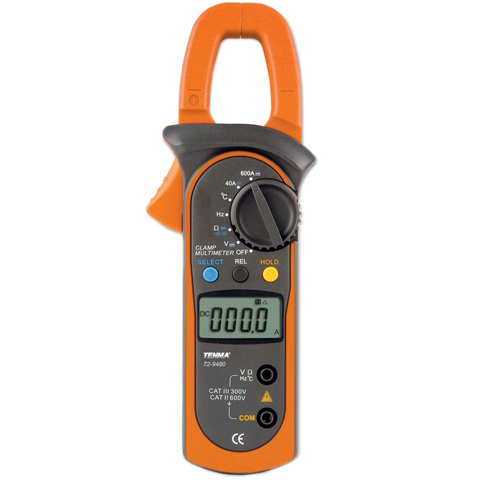 TENMA DIGITAL MULTIMETERS - CLAMP PRO SERIES
