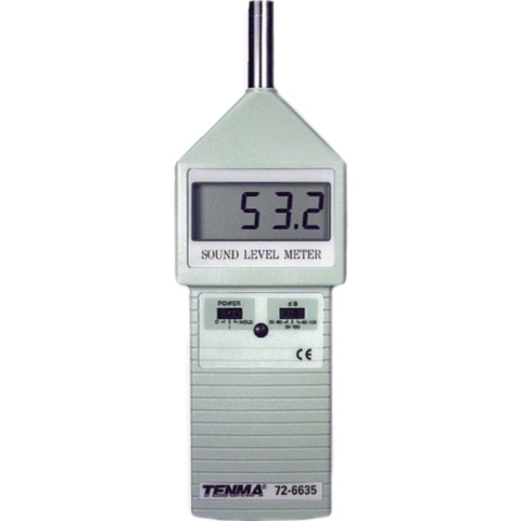 TENMA DIGITAL SOUND LEVER METER