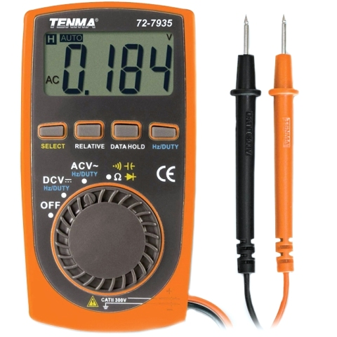 TENMA DIGITAL MULTIMETERS - POCKET SERIES