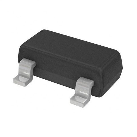 טרנזיסטור N CHANNEL - 50V 0.2A - 1.4R - SMD DIODES INC