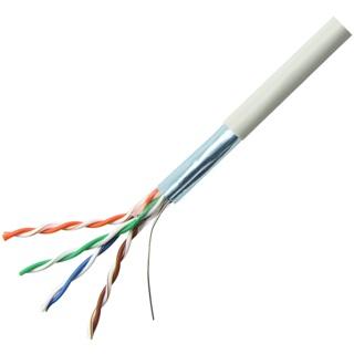 כבל רשת גמיש מסוכך - CAT5E FTP - גליל 100M DRAKA