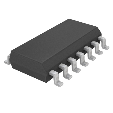 TEXAS INSTRUMENTS OPERATIONAL AMPLIFIERS - SOIC-14